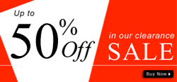 Sale And Clearance Banner